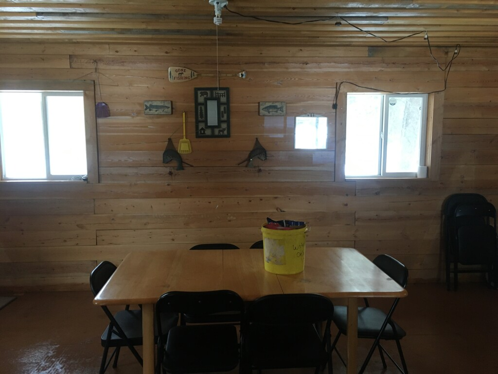 much more spacious in the kitchen cabin